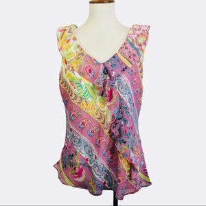 Spago Collection Sleeveless top boho paisley